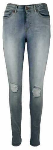 Blu Destroyed Nuovo SL Knee D Donna Jeans Pantaloni ct198 NOOS Vero MODA SEVEN NW su