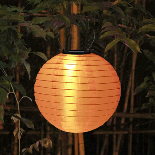 Outdoor Waterproof Solar LED Cloth Lamp Chinese Lanterns Festival New Year Lamps