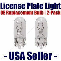 License Plate Bulb 2pk Oe Replacement Fits - Listed Chevrolet Vehicles - 194 (5)