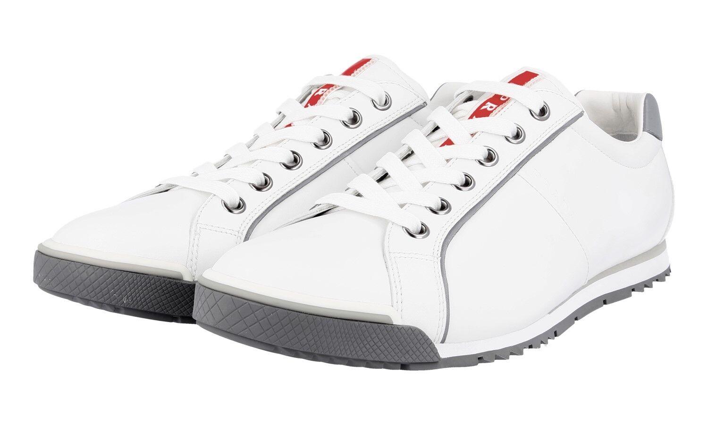 shoes PRADA LUXUEUX 4E2719 whiteHE NOUVEAUX 10 44 44,5
