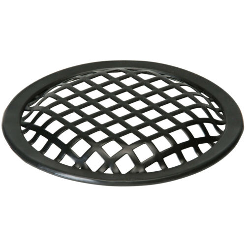 """1X Black 10/"""" inch Sub Woofer Speaker Mesh WAFFLE GRILL Protective Cover VWLTW"""