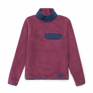 HERSCHEL-W-FLEECE-PULLOVER-WINE-X