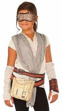 Star Wars Force Awakens Rey Deluxe Dress-Up Set Costume Size 6-8 FREE SHIPPING!