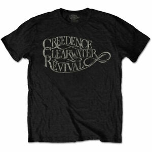 Creedence-Clearwater-Revival-Vintage-Logo-Official-MerchT-Shirt-M-L-XL-Neu