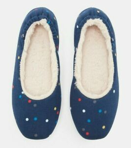 Joules-Dreamwell-Slippers-Navy-Spot