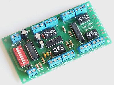 Adattabile S-dec Mm, Quadro Decoder, Per 4x2, Compatibile Con Märklin-digital K84, 02.06 Nuovo.-mostra Il Titolo Originale
