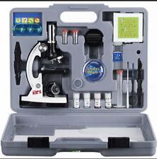 Amscope 52pc 120x 1200x White Starter Microscope Science Kit For Kids 8