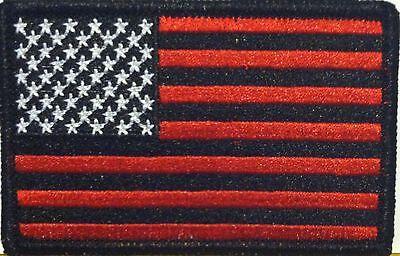 ARIZONA Flag Iron-On Morale Patch Black /& Green Kelly Version White Border #6
