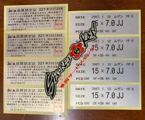 Decals MUGEN Rims MF10, MF10L, MF8 Sticker Spec All Size