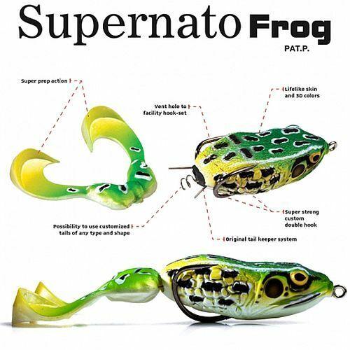Choose Color Molix Supernato Frog Spare Legs 2 Per Pack