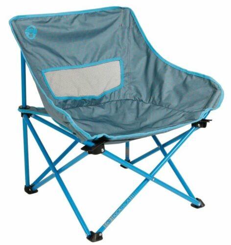 Coleman Chaise de camping Kickback Breeze Bleu Chaise Pliante Chaise Pliante Chaise Angler
