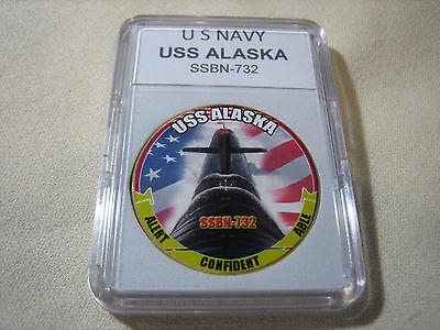 US Navy USS Alaska SSBN-732 Submarine T-Shirt
