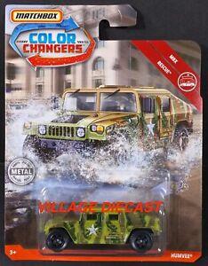 MOC DINO TRACKS 2019 Matchbox Color Changers Jeep® Wrangler™ GREEN