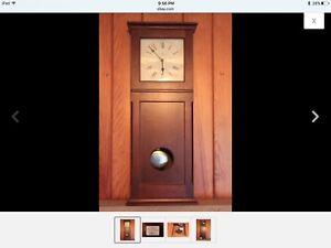 Cherry-613-666-Howard-Miller-Clock