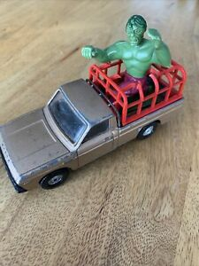 VINTAGE-CORGI-1979-L-039-INCREDIBILE-HULK-Diecast-Pick-Up-Mazda-B1600-1-36