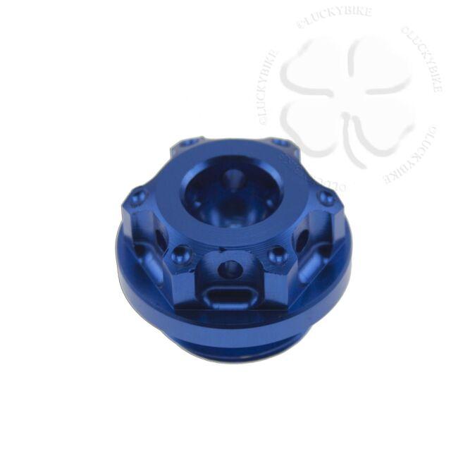 Blue GP Engine Oil Filler Cap Yamaha YZF R1 R6 R6s 600 1000 FZ1 FZ6 FZR FZ 600R