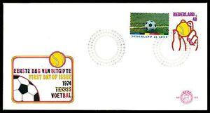 NIEDERLANDE-FDC-1974-FUssBALL-FOOTBALL-FUTBOL-SOCCER-TENNIS-bv38