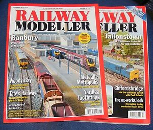 AgréAble Railway Modeller Magazines Various Issues 2014