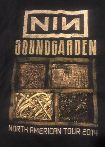 Vintage Soundgarden /Nine Inch Nails 2014 Large Wa