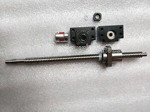 1 Set RM2005--1150mm Anti-backlashed Ballscrew /&BF15//BK15 /& 8*12mm Coupling