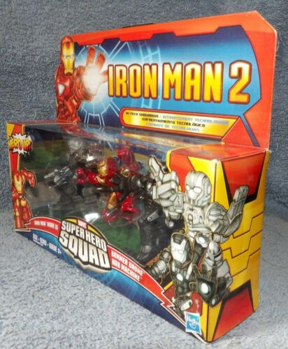 SUPER HERO SQUAD IRON MAN 2 HI-TECH SHOWDOWN SET