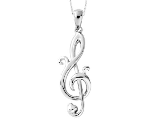 Love Notes Pendant in Sterling Silver
