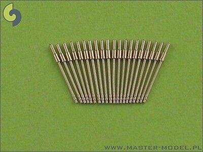 2cm/65 C/30 FLAK BARRELS 20 PCS (BISMARCK, LUTZOW, Z-30, ETC) 1/350 MASTER