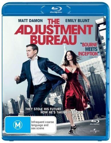 1 of 1 - The Adjustment Bureau  Blu-Ray Region B
