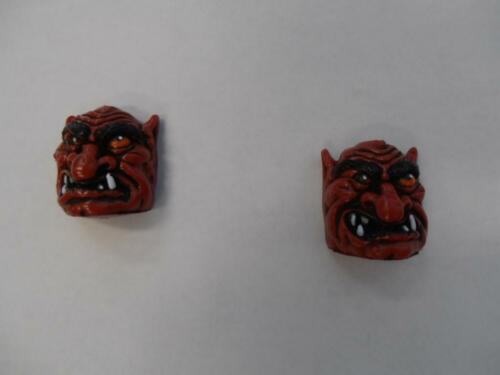 Medieval Madness Awesome RED Troll Heads x 2 Mr Pinball Spare Parts Worldwide