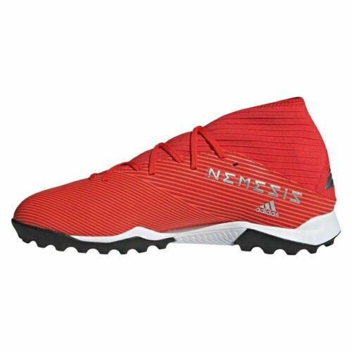 ADIDAS Men/'s NEMEZIZ 19.3 TF TURF Soccer Shoes Active Red//Silver F34427