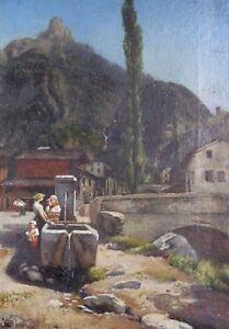 Jean-Hector-Gambart-1854-1891-Newborn-in-Peronne-Somme-Jules-Lefebvre-Museum