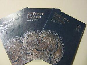 OLD TIMER JEFFERSON NICKEL SET  1938-2015 PDS 174 COINS new folders BU 50-D *