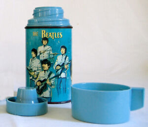 RARE Beatles original Thermos from 1965 vintage Aladdin Industries No Reserve!