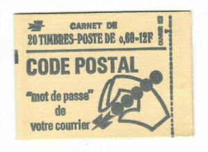 s24431) FRANCE 1974 MNH** Fr.0,60(x20) Booklet opened #L1815