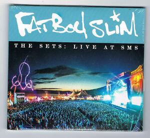 FATBOY-SLIM-THE-SETS-LIVE-AT-SMS-2-CD-SET-2014-NEUF-NEW-NEU