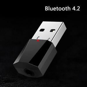 USB bluetooth audio aux receiver 3.5mm speakers music receptor For car media HK