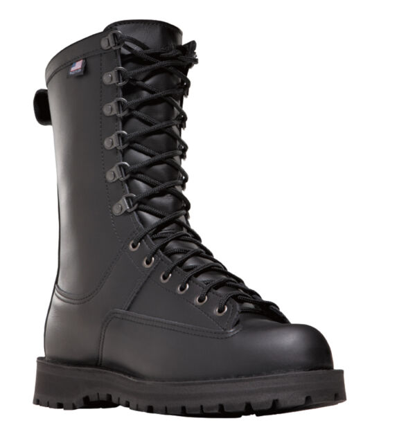 Danner Fort Lewis 10in 200G Mens Black Leather GTX Military Boots 69110