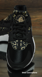 timeless design 842bf 7261d Clothing, Shoes   Accessories Nike Air Huarache Run Print Black Khaki  725076-007 Women s Shoes Multi Size