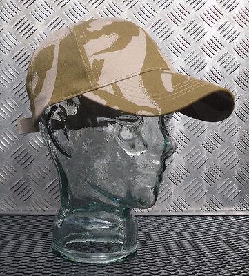 2019 Ultimo Disegno 100% Cotone British Desert Camouflage Baseball Cappello/berretto-nuovo Di Zecca-mostra Il Titolo Originale
