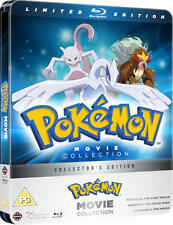 Pokemon Movie Collection - Limited Edition Steelbook (Blu-ray) BRAND NEW!!