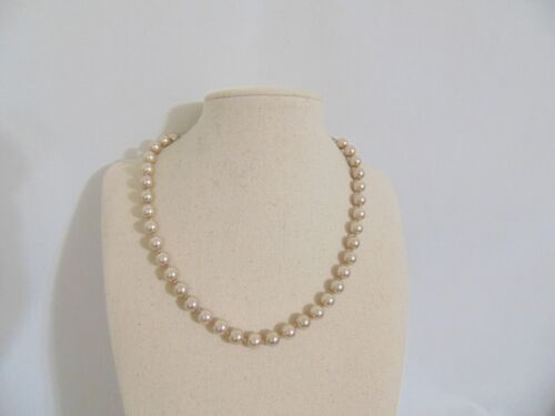 "Charter Club 16/"" Silver-Tone Kiska Pearl Necklace H933 $26"