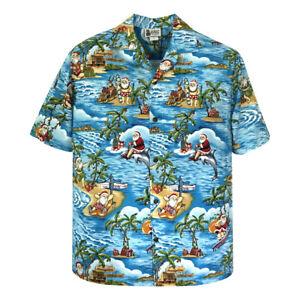 500-1225-Hawaii-039-s-Official-Christmas-Hawaiian-Shirt-with-Santa-Surfing