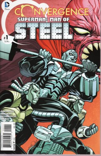 Convergence Superman Man of Steel No.1 2015