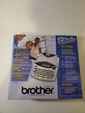 Brother P Touch Electronic Labeling System Pt 1950 New In Box