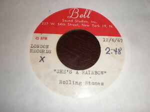 Rolling-Stones-45-She-039-s-A-Rainbow-2-000-Light-Years-From-Home-BELL-ACETATE