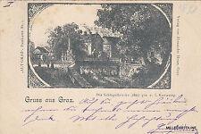 * AUSTRIA - Gruss aus Graz - Die Schlogelbrucke 1841 J.Kuwasseg 1898 Alt Graz N1