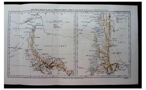 1925-Percy-Cox-OMAN-Muscat-SHEIKHS-Jowasmi-Pirates-COLOR-MAP-Photos-9