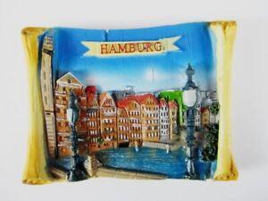 Hamburg-Speicherstadt-Germany-Ansicht-3D-Poly-Magnet-Souvenir-Deutschland