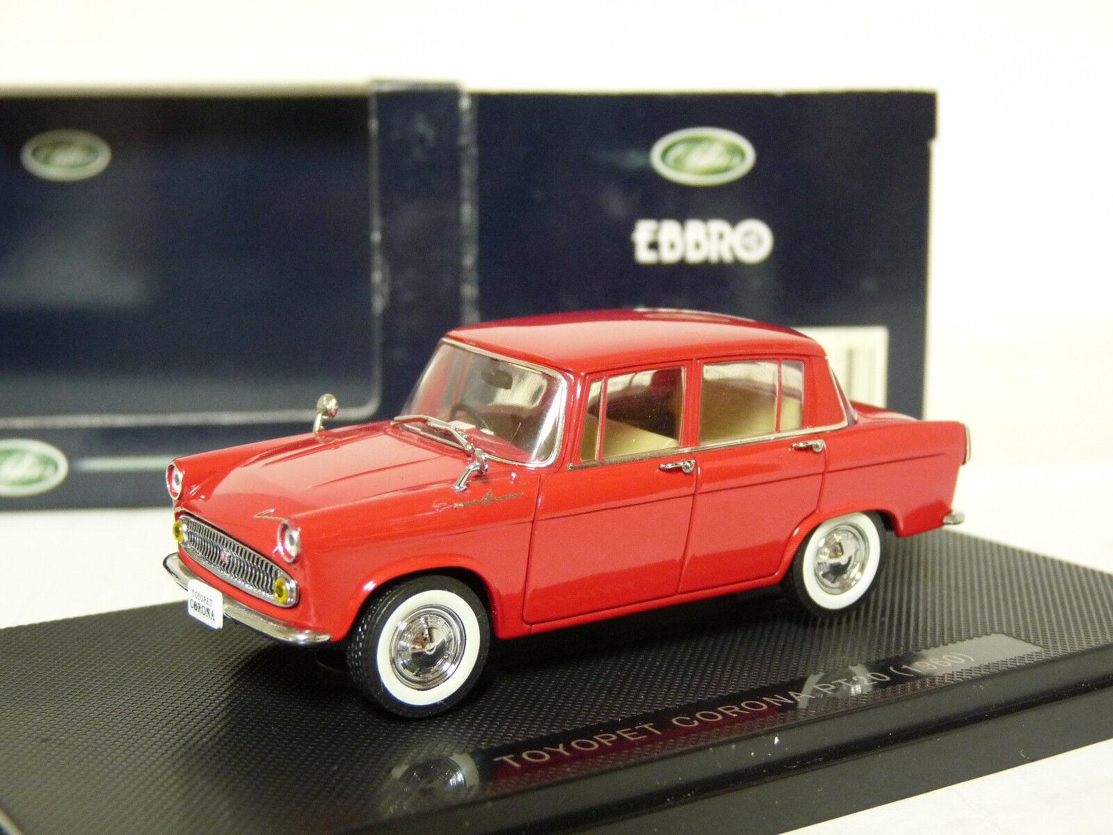 Ebbro 679 1 43 1960 Jugueteota Jugueteopet corona PT20 Coche Modelo Diecast