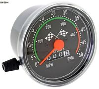 Old School Mechanical Speedometer, For Your 49/80cc Bicycle Engine Kit (jacdh)